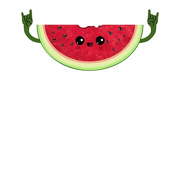Funny Melon rocks T-Shirt - Cute Watermelon Festival Gift by Cheesybee