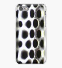 Metallic Hoop Texture - Shallow Focus iPhone Case/Skin
