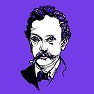 Richard Strauss composer portrait of musician by ArtyMargit