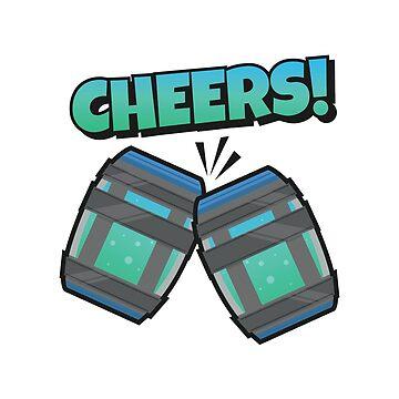 Cheers! Fortnite Chug Jug by Guthridge