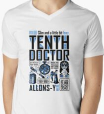 The Tenth Doctor Men's V-Neck T-Shirt