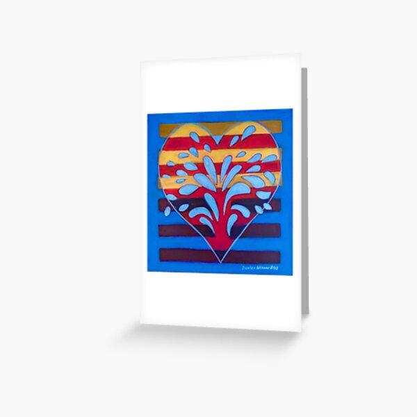 Hexagram 25 - Wu Wang (Innocence) Greeting Card
