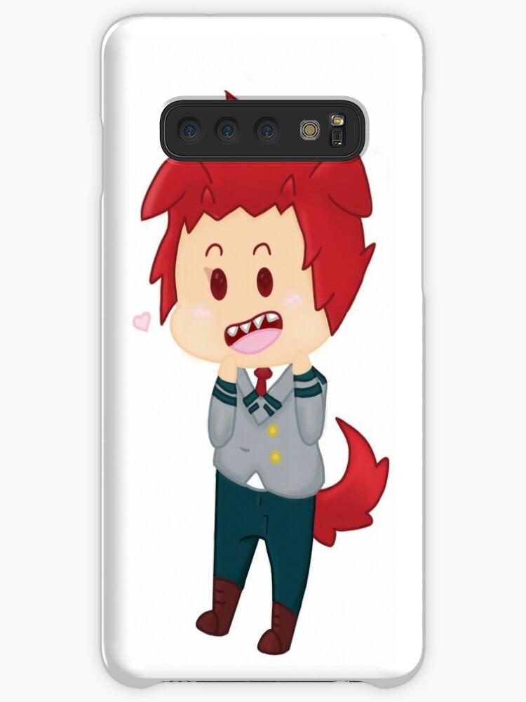 'My Hero Academia Kirishima Eijirou Cute Sticker' Case/Skin for Samsung  Galaxy by IkigaiEdit