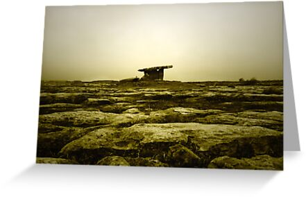 Poulnabrone dolmen by vwphotography