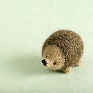 Hedgehog by bunnyknitter