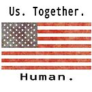 Us Together Human Flag by RNF1
