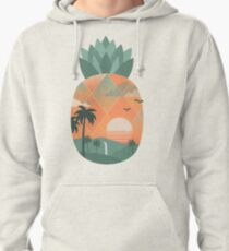 Tropical Gold Pullover Hoodie