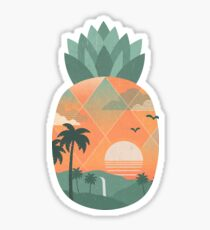 Tropical Gold Sticker