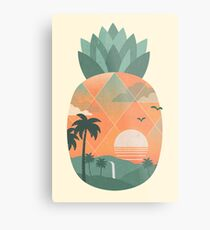 Or tropical Impression métallique