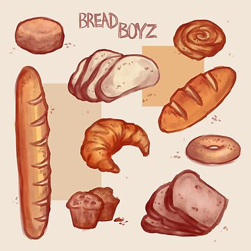 BREAD MEDLEY- different kinds of Baked Goods by Ivegotartitude