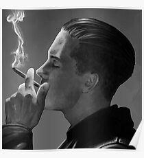 Rapper G-Eazy- Fan Art Drawing Poster