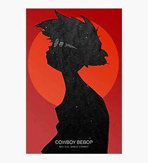 Cowboy bebop - Ed Photographic Print
