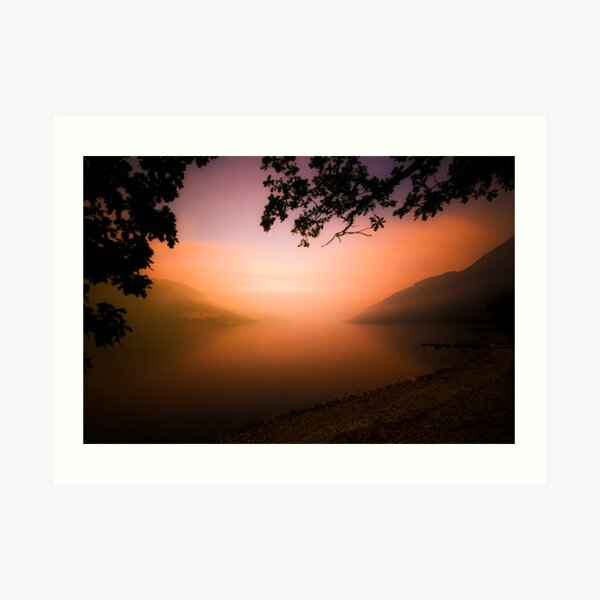The Dying Light (1) Art Print