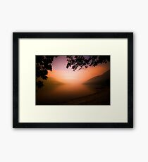 The Dying Light (1) Framed Print