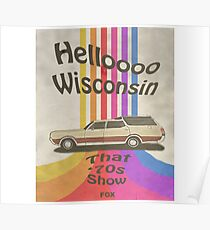 Hallo Wisconsin Poster
