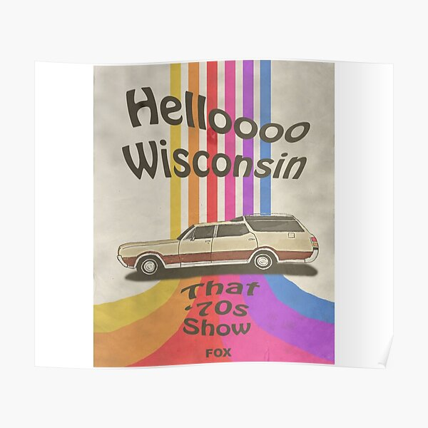 Hola Wisconsin Póster