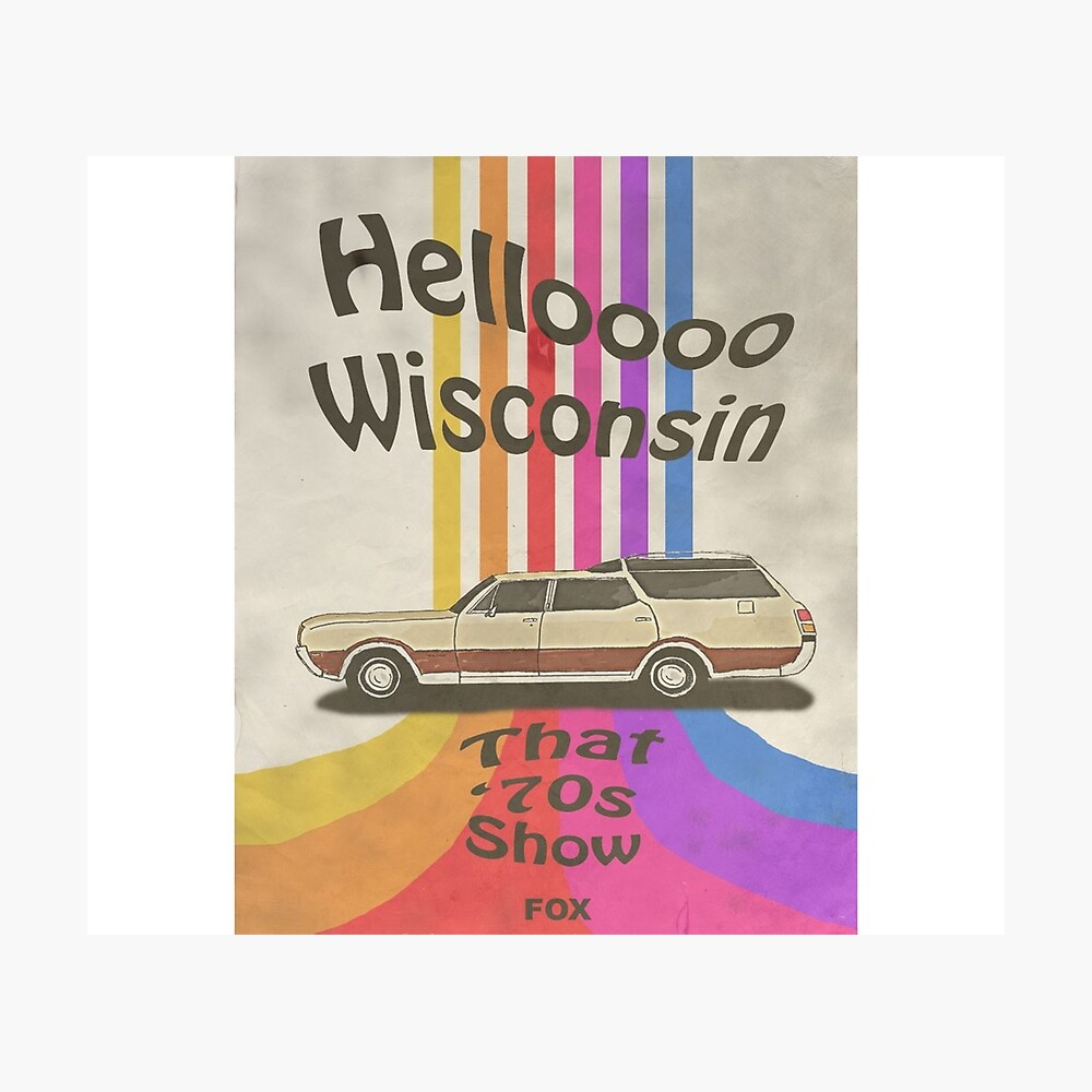 Hello Wisconsin Photographic Print