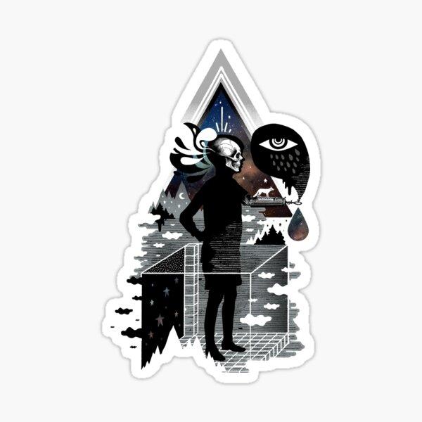 Ghosts Sticker