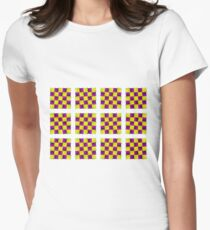 Optical Illusion, Visual Illusion, Cognitive Illusions, #OpticalIllusion, #VisualIllusion, #CognitiveIllusions, #Optical, #Illusion, #Visual, #Cognitive, #Illusions Women's Fitted T-Shirt