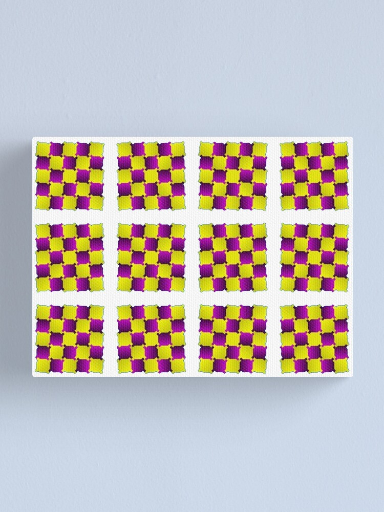 Alternate view of Optical Illusion, Visual Illusion, Cognitive Illusions, #OpticalIllusion, #VisualIllusion, #CognitiveIllusions, #Optical, #Illusion, #Visual, #Cognitive, #Illusions Canvas Print