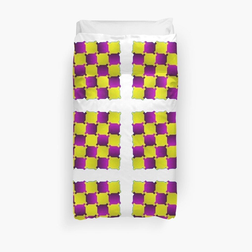 Optical Illusion, Visual Illusion, Cognitive Illusions, #OpticalIllusion, #VisualIllusion, #CognitiveIllusions, #Optical, #Illusion, #Visual, #Cognitive, #Illusions: Duvet Cover