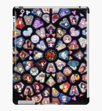 Black Stained Glass Merchandise iPad Case/Skin