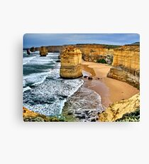 Battered icons Canvas Print