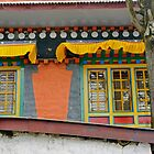 Namche Windows by Harry Oldmeadow