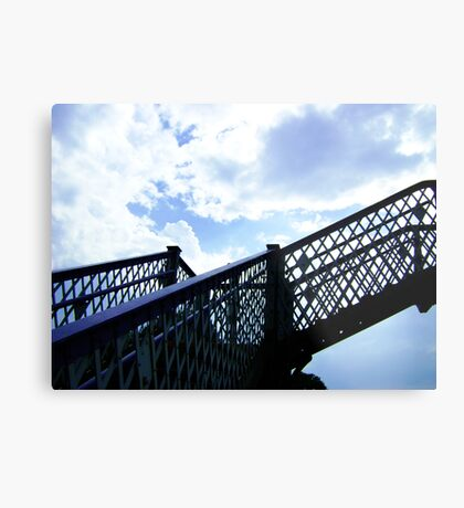 Up, and up! Metal Print