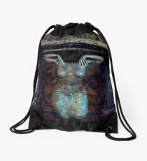 In Assenza Di Te (In Absence of You) Drawstring Bag