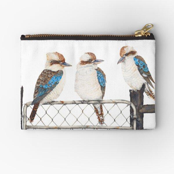 Kookaburras: Three Amigos Zipper Pouch