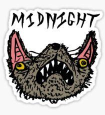 Midnight White Sticker