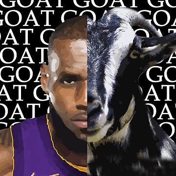 G.O.A.T - LA Lakers  Lebron James by RLVantagePoint