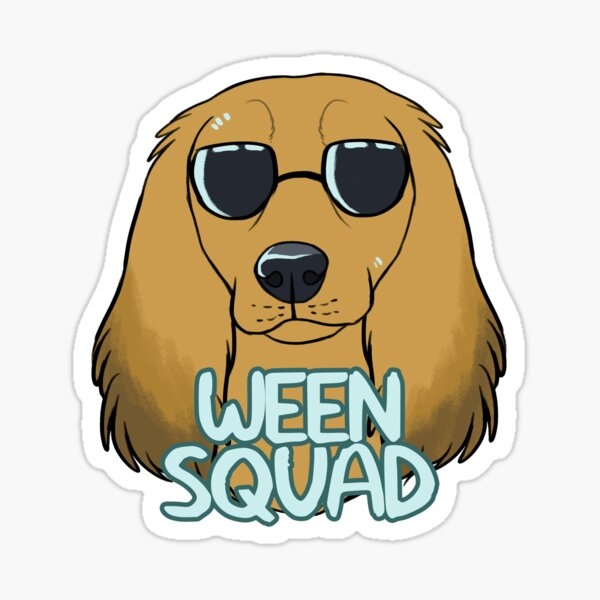 WEEN SQUAD (longhaired cream) Sticker