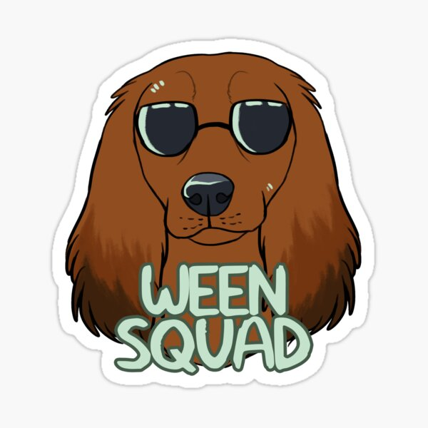 WEEN SQUAD (longhaired red) Sticker