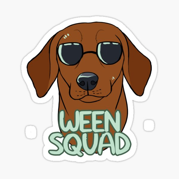 WEEN SQUAD (shorthaired red) Sticker