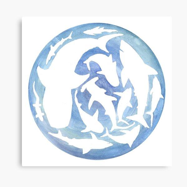 World of Sharks Canvas Print