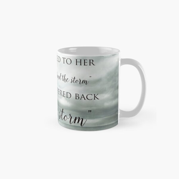 Fate Whispered to Her Classic Mug