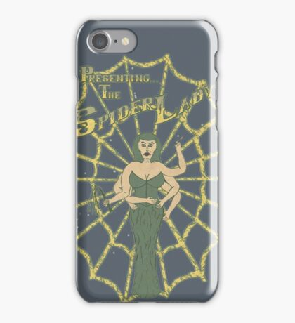 Spider Lady II iPhone Case/Skin