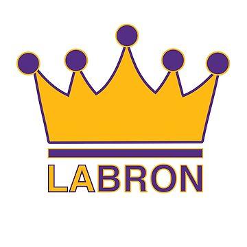 King LABron by subieliu