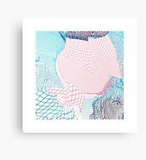Pastell-Matrix Leinwanddruck
