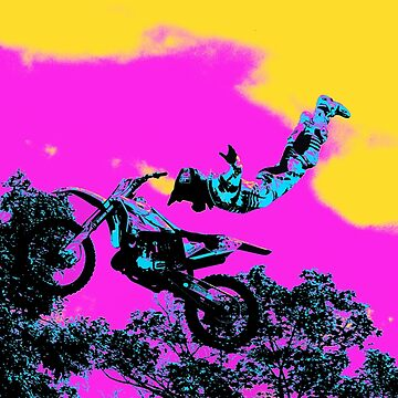 Letting Go - Freestyle Motocross Stunt by NaturePrints