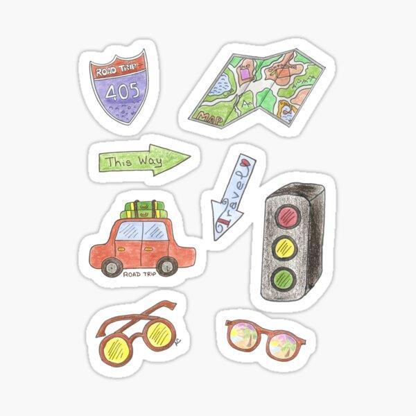Road trip stickers pack Sticker