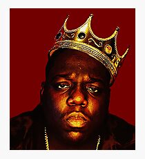 Biggie Smalls Photographic Print