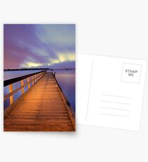 Jetty At Dawn  Postcards