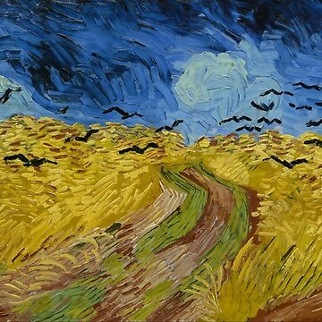 Wheatfield with Crows by TonyAra