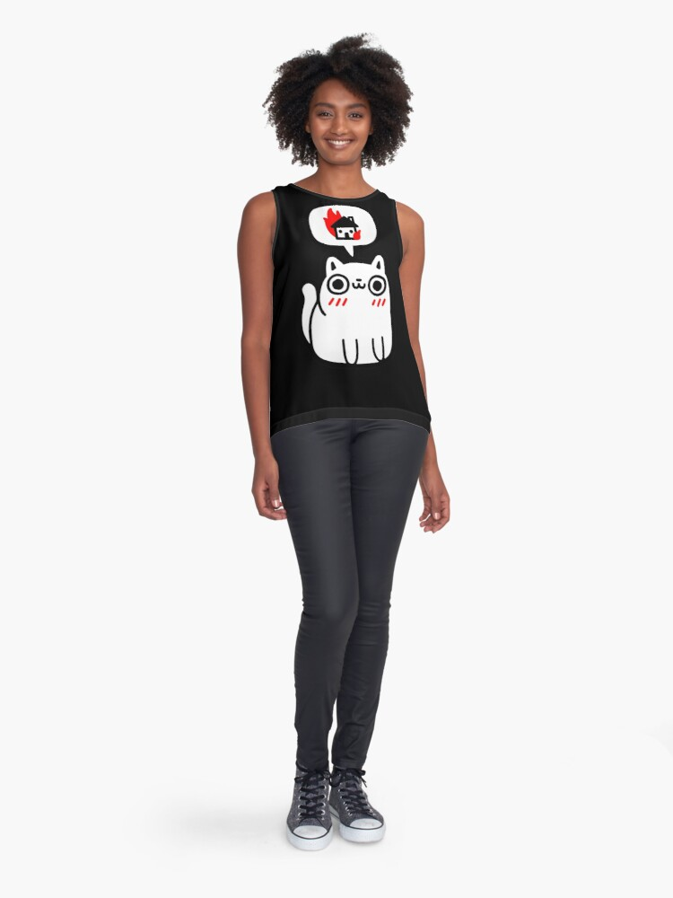 Alternate view of Dreaming Of Destruction Sleeveless Top