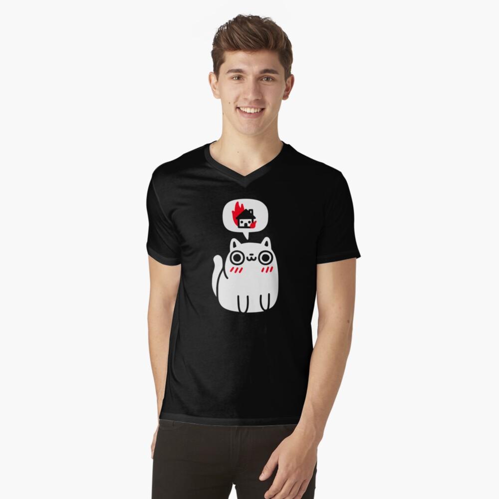 Dreaming Of Destruction V-Neck T-Shirt