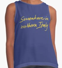 Blusa sin mangas En algún lugar del norte de Italia - Llámame por tu nombre