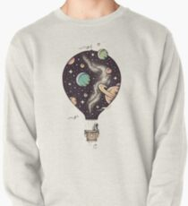 Hot air balloon Art / Space Style  Pullover
